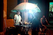 Sandwich stand in Gibara, Holguin, Cuba.