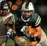© David Richard.Elyria Catholic posted a 34-28 overtime victory over Bishop Hartley in high school varsity football on September 17, 2010.