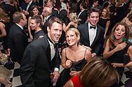 On the dance floor at the Brooklyn Kindergarten Society's 2016 Yuletide Ball.