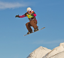 07.12.2010,AUT, Schlegelkopf, Lech am Arlberg, LG Snowboard, FIS Worldcup SBX, im Bild Perez Marion, FRA, #18, EXPA Pictures © 2010, PhotoCredit: EXPA/ P. Rinderer