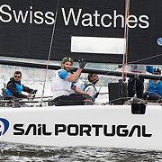 SAIL PORTUGAL<br /> (POR)<br /> For the first time in the Series' history a Portuguese team enters the line-up. The team roster boasts numerous Olympic and America's Cup campaigns, with elite sailors bringing vast amounts of offshore and inshore sailing knowledge and experience to the table. The team will relish the chance to race on home waters at the seventh Act of the season in Lisbon. Now in its tenth season in 2016, the award-winning and adrenaline-fueled global Series has given the sport of sailing a healthy dusting-off. Bringing the action to the public with Stadium Sailing, putting guests at the heart of the battle and dramatically increasing the pace on the water, the creators of the Extreme Sailing Series™ have set new standards, both in terms of high level competition and sporting entertainment. With a new fleet of hydro-foiling GC32s replacing the Extreme 40 for the 2016 season the Extreme Sailing Series™ looks set to be another fast-paced and thrilling year.