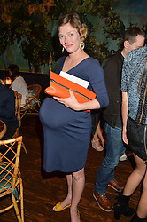 CAMILLA RUTHERFORD at a tea party to launch Grace Guru held at Sketch, 9 Conduit Street, London on 17th June 2015.