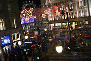 Oxford Circus, central London, is at the heart of the large shopping area surrounding the junction with Reagent's Street, on Tuesday, Dec. 21, 2004. **ITALY OUT**