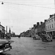 Towns in Ireland, Main Carrickmacross, Co. Monaghan.04/04/1957