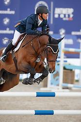 Farrington Kent, USA, Sherkan d'Amaury<br /> CSI5* Grand Prix<br /> Jumping Antwerpen 2017<br /> © Hippo Foto - Dirk Caremans<br /> 22/04/17
