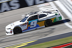 September 14, 2018 - Las Vegas, Nevada, United States of America - Tyler Reddick (9) brings his race car down the front stretch during practice for the DC Solar 300 at Las Vegas Motor Speedway in Las Vegas, Nevada. (Credit Image: © Chris Owens Asp Inc/ASP via ZUMA Wire)