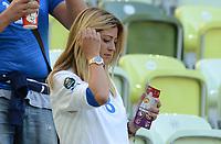 """Roberta MARCHISIO (Italia)<br /> Danzica 10/06/2012  """"GDANSK ARENA""""<br /> Football calcio Europeo 2012  Spagna Vs Italia <br /> Football Calcio Euro 2012<br /> Foto Insidefoto Alessandro Sabattini"""