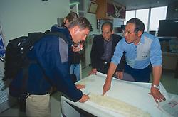 J. & Dana Nichols With Port Officials At Hamahata