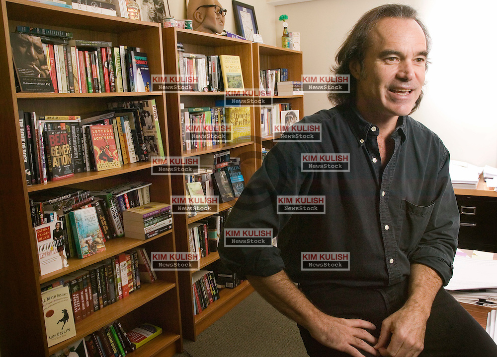Portrait of Charlie Winton.   Winton is currently CEO and publisher of Counterpoint Press.   Photo by Kim Kulish