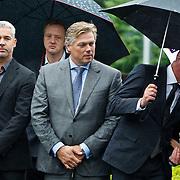 NLD/Amsterdam/20100826 - Uitvaart RTL journalist Conny Mus in Amsterdam,