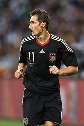03.07.2010, CAPE TOWN, SOUTH AFRICA,Miroslav Klose of Germany during the Quarter Final,  Match 59 of the 2010 FIFA World Cup, Argentina vs Germany held at the Cape Town Stadium EXPA Pictures © 2010, PhotoCredit: EXPA/ nph/  Kokenge
