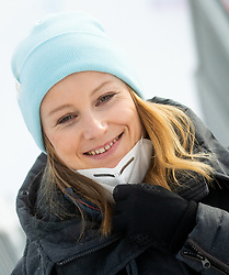 Ana Drev during 2nd Run of Ladies' Giant Slalom at 57th Golden Fox event at Audi FIS Ski World Cup 2020/21, on January 17, 2021 in Podkoren, Kranjska Gora, Slovenia. Photo by Vid Ponikvar / Sportida