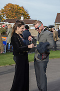 GISELA QUEST; ADAM ROSSITER, Side-Saddle Dash, Southern Spinal Injuries Trust charity Day. Wincanotn. 25 October 2015.