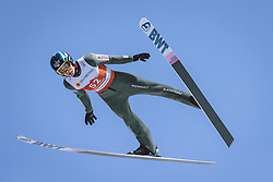 24.02.2021, Oberstdorf, GER, FIS Weltmeisterschaften Ski Nordisch, Oberstdorf 2021, Herren, Skisprung, HS106, Training, im Bild Jakub Wolny (POL) // Jakub Wolny of Poland during a training session for the men ski Jumping HS106 Competition of FIS Nordic Ski World Championships 2021. in Oberstdorf, Germany on 2021/02/24. EXPA Pictures © 2021, PhotoCredit: EXPA/ Dominik Angerer