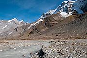 Gletschervorfeld von Wetterlückegletscher in hintere Lauterbrunnental