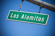 Los Alamitos Street Sign