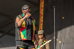 May 3, 2018 - New Orleans, Louisiana, U.S - FREDERICK 'TOOTS' HIBBERT of Toots and the Maytals during 2018 New Orleans Jazz and Heritage Festival at Race Course Fair Grounds in New Orleans, Louisiana (Credit Image: © Daniel DeSlover via ZUMA Wire)