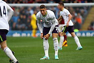 Everton's Ross Barkley looks on. Barclays Premier league match, Burnley v Everton at Turf Moor in Burnley, Lancs on Sunday 26th October 2014.<br /> pic by Chris Stading, Andrew Orchard sports photography.