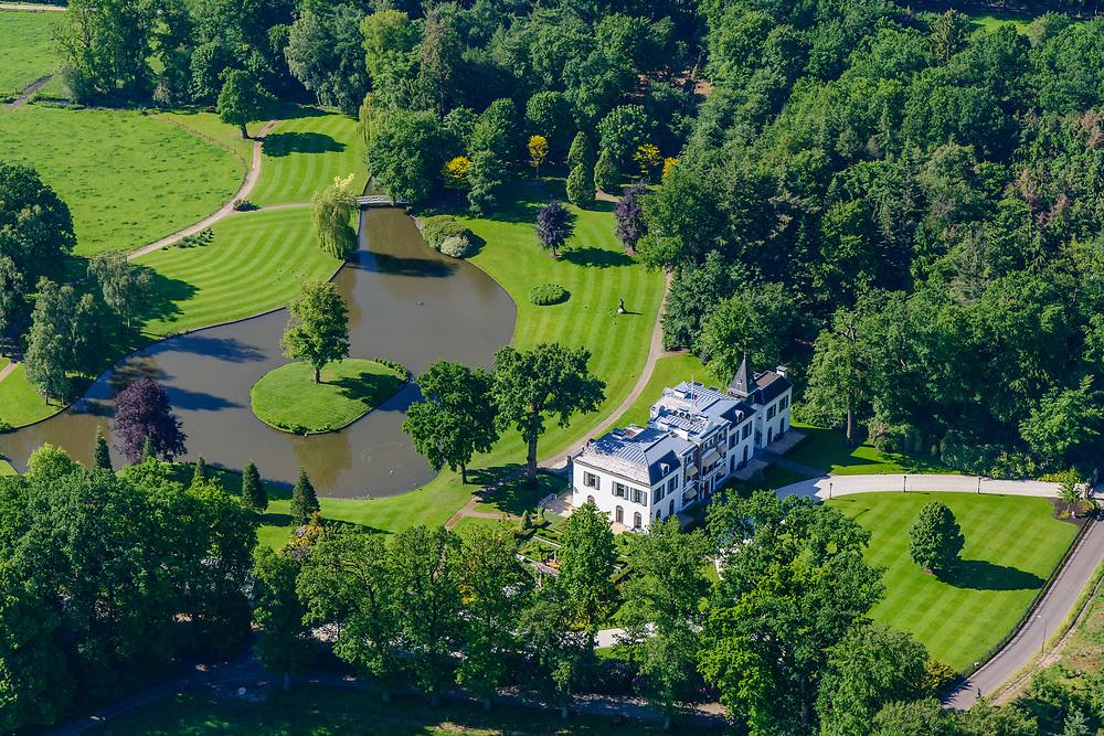 Nederland, Utrecht, Leusden, 29-05-2019; landgoed en landhuis Den Treek.<br /> Estate and country house Den Treek.<br /> <br /> luchtfoto (toeslag op standard tarieven);<br /> aerial photo (additional fee required);<br /> copyright foto/photo Siebe Swart