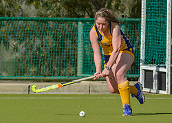 Jana Greeff of Oranje MS during day two of the FNB Private Wealth Super 12 Hockey Tournament held at Oranje Meisieskool in Bloemfontein, South Africa on the 7th August 2016, <br /> <br /> Photo by:   Frikkie Kapp / Real Time Images