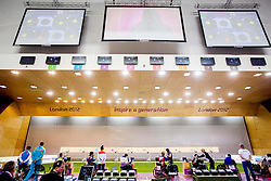 Arena during Men's R5-10m Air Rifle Prone shooting Final during Day 4 of the Summer Paralympic Games London 2012 on September 1, 2012, in Royal Artillery Barracks, London, Great Britain. (Photo by Vid Ponikvar / Sportida.com)