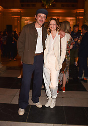 Sienna Guillory and Enzo Cilenti at Fashioned From Nature held at The V&A Museum, London, England. 18 April 2018.