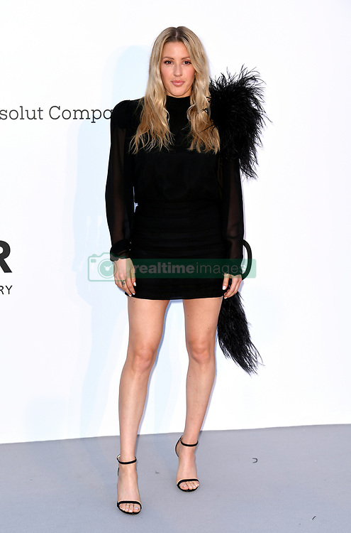 Ellie Goulding attending the 25th amFAR Gala held at the Hotel du Cap-Eden-Roc in Antibes as part of the 71st Cannes Film Festival