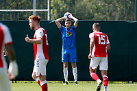 Mark Kitching. Stockport County 0-2 Fleetwood Town. Pre-Season Friendly. 15.8.20