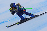SOELDEN, AUSTRIA. OCTOBER 17 2020:  1st Women's Giant Slalom as part of the Alpine Ski World Cup in Solden on October 17, 2020; Run 1, Lara Della Mea (ITA) ( Pierre Teyssot/ESPA Images-Image of Sport)