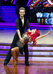 Joe Sugg and Dianne Buswell attend the photocall for the 'Strictly Come Dancing' live tour at Arena Birmingham on 17 January 2019 in Birmingham, England. Picture date: Thursday 17 January, 2019. Photo credit: Katja Ogrin/ EMPICS Entertainment.