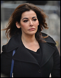 The TV Chef Nigella Lawson arrives at Isleworth Crown Court. London, United Kingdom. Thursday, 5th December 2013. The TV chef will continue to give evidence at the trial for Francesca and Elisabetta Grillo, who appear charged with fraud after allegedly using a company credit card to defraud the TV chef and her former husband out of £300,000. Picture by Andrew Parsons / i-Images<br />