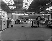 10/11/1958<br /> 11/10/1958<br /> 10 November 1958<br /> McCairns Motors Ltd., Tara Street, Dublin.  McCairn's specialised in Chevrolet and Vauxhall models and were the major supplier of parts and services for these companies in Ireland.