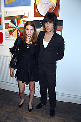 JACKSON SCOTT and BEN GRIMES at a party to celebrate the opening of a new art gallery, 20 Hoxton Square, Hoxton Square, London on 27th April 2007.<br /><br />NON EXCLUSIVE - WORLD RIGHTS
