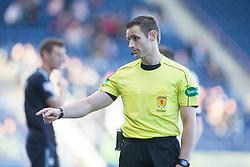 Ref Steven McLean. Falkirk 2 v 0 Dunfermline, Scottish Challenge Cup played 7/9/2017 at The Falkirk Stadium.