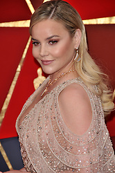 Abbie Cornish walking on the red carpet during the 90th Academy Awards ceremony, presented by the Academy of Motion Picture Arts and Sciences, held at the Dolby Theatre in Hollywood, California on March 4, 2018. (Photo by Sthanlee Mirador/Sipa USA)