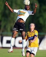 Fotball , 7. juni 2007 , Adeccoligaen , Hønefoss - moss 0-1<br /> Umaru Bangura