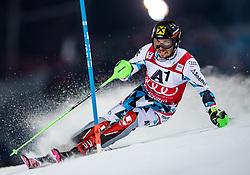 THEMENBILD - Bereits zum 22. Mal begeistert der FIS Nachtslalom der Herren am 29. Jänner 2019 tausende Zuseher im WM-Austragungsort 2013 in Schladming, hier im Bild:  Archivbild vom 24.01.2017, Planai, Schladming, AUT, FIS Weltcup Ski Alpin, Schladming, Slalom, Herren, 1. Lauf, im Bild Marcel Hirscher (AUT) // Marcel Hirscher of Austria in action during his 1st run of men's Slalom of FIS ski alpine world cup at the Planai in Schladming, Austria on 2017/01/24. EXPA Pictures © 2017, PhotoCredit: EXPA/ Johann Groder