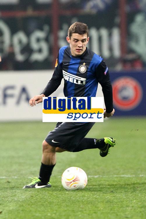 "Mateo Kovacic Inter.Milano 14/02/2013 Stadio ""San Siro"".Football Calcio UEFA Europa League 2012/13.Inter v Cluj.Foto Insidefoto Paolo Nucci."