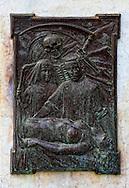 Bronze relief in Ciego de Avila, Cuba.