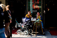 SWEDEN- STOKHOLM - 26/09/2006 : city center daily life  .///.le centre ville
