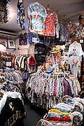 "Hawaiian shirts (aka ""aloha shirts"") for sale at Bailey's Antiques and Aloha Shirts store in Honolulu, Hawaii"