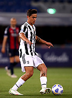 BOLOGNA, ITALY - MAY 23: Paulo Dybala of Juventus FC in action ,during the Serie A match between Bologna FC and Juventus FC at Stadio Renato Dall'Ara on May 23, 2021 in Bologna, Italy.(Photo by MB Media/Getty Images)