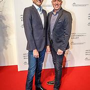 NLD/Amsterdam/20160206 - Premiere balletvorstelling Mata Hari, Maurice Wijnen en partner Ronald den Ouden