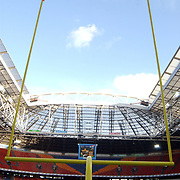 American Football, Amsterdam Admirals - Cologne Centurions, veld, arena, overzicht, doel