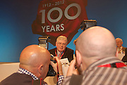 Eamon Gilmore  at the Labour conference in the Bailey hall in NUIG . Photo:Andrew DOwnes..