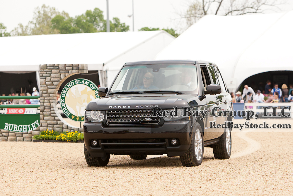 Land Rover in the main ring at the 2012 Rolex Kentucky Three-Day Event held at the Kentucky Horse Park in Lexington, KY.