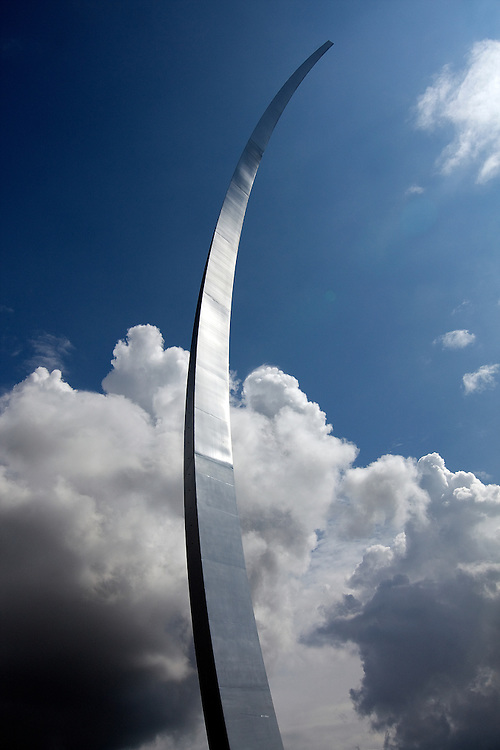 The United States Air Force Memorial honors the service of the personnel of the US Air Force and its predecessors. The Memorial is located in Arlington, Virginia, on the grounds of Fort Myer near the Pentagon. It was the last project of American architect James Ingo Freed.