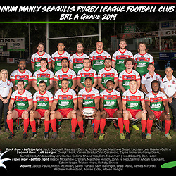 Wynnum Manly Seagulls Team Photos 2019