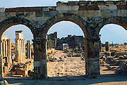 TURKEY, GREEK AND ROMAN Hierapolis-Pamukkale Arch of Domitian