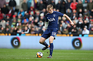 Eric Dier of Tottenham Hotspur in action. The Emirates FA Cup, quarter-final match, Swansea city v Tottenham Hotspur at the Liberty Stadium in Swansea, South Wales on Saturday 17th March 2018.<br /> pic by  Andrew Orchard, Andrew Orchard sports photography.